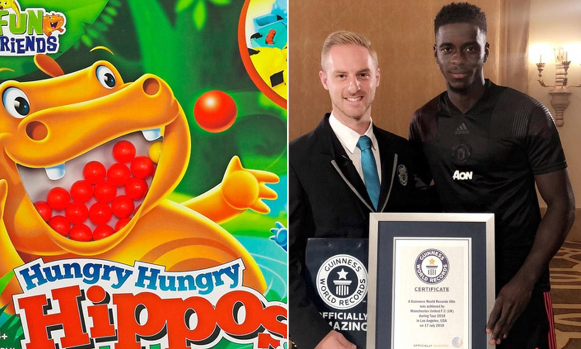 Tuanzebe guinness world records