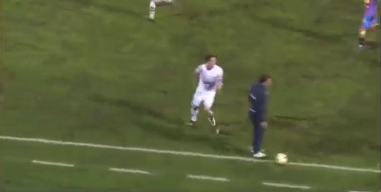 tecnico Catania in campo