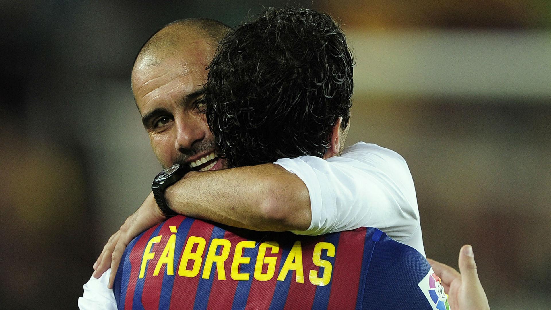 Fabregas e Guardiola