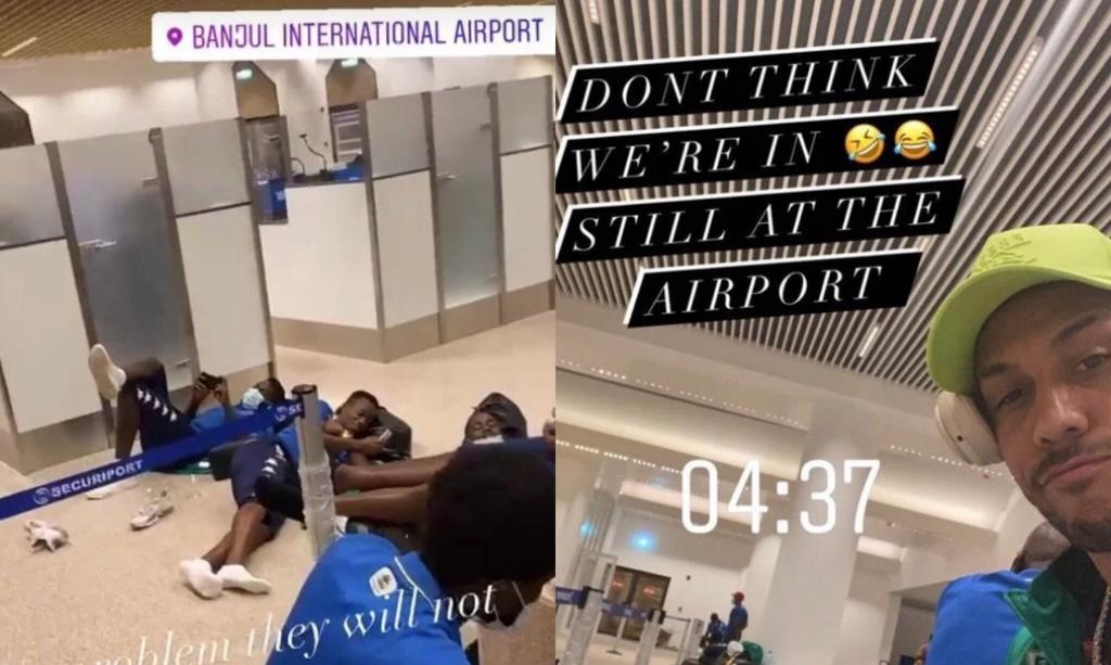Gabon aeroporto