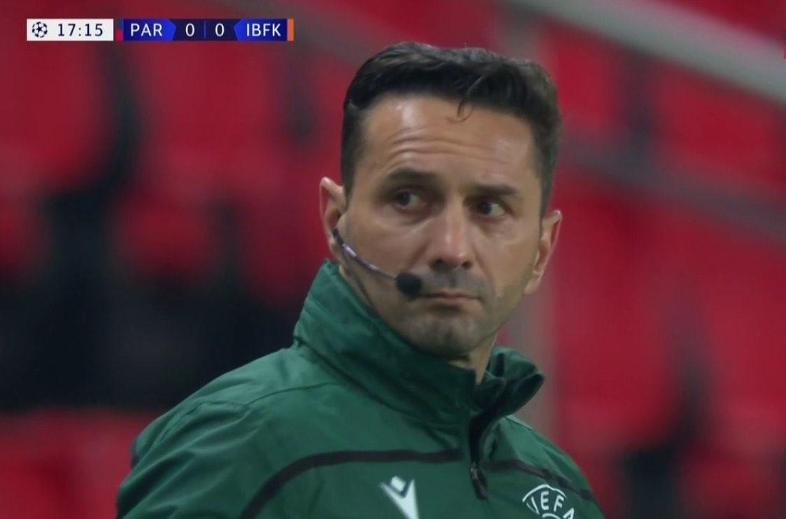 Sebastian Coltescu arbitro