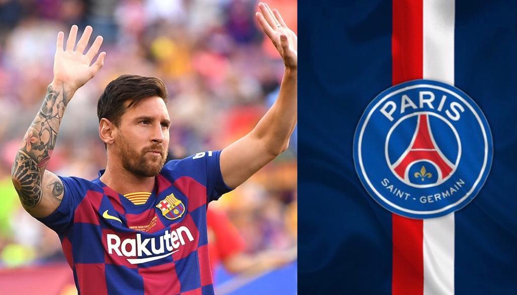 Messi Paris Saint Germain