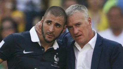 Deschamps e Benzema