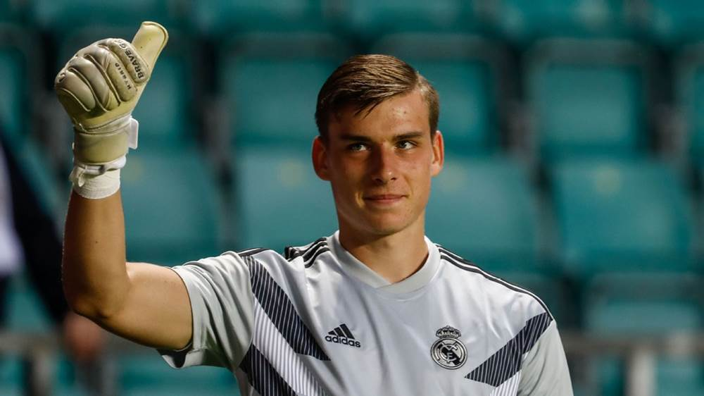 Lunin debutto Real