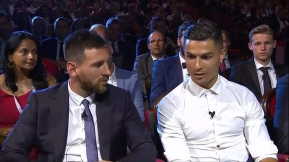 Ronaldo Messi Barcellona