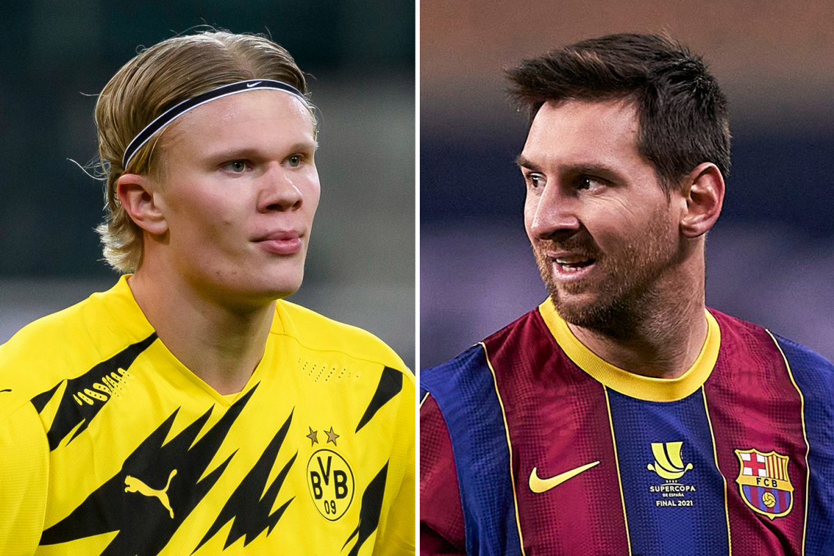 Messi e Haaland City