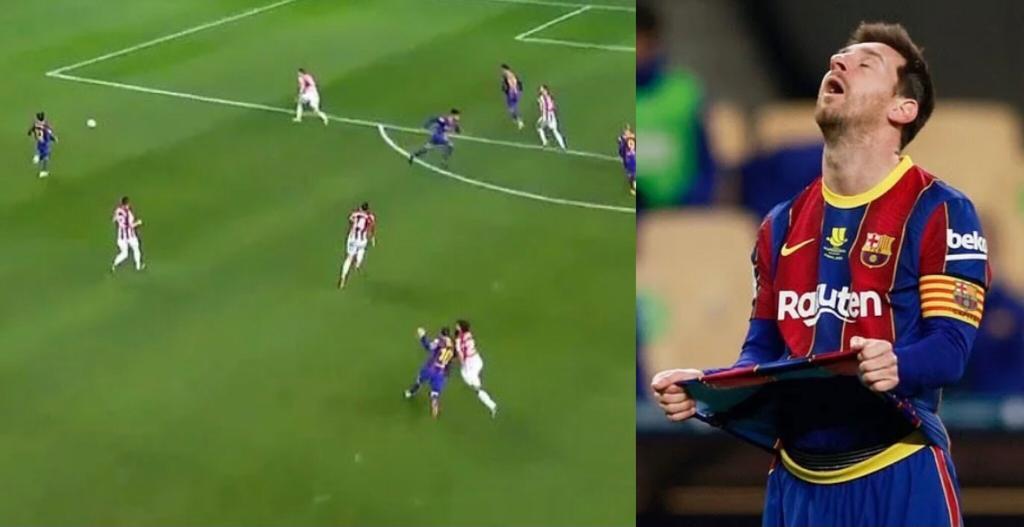 Messi squalifica