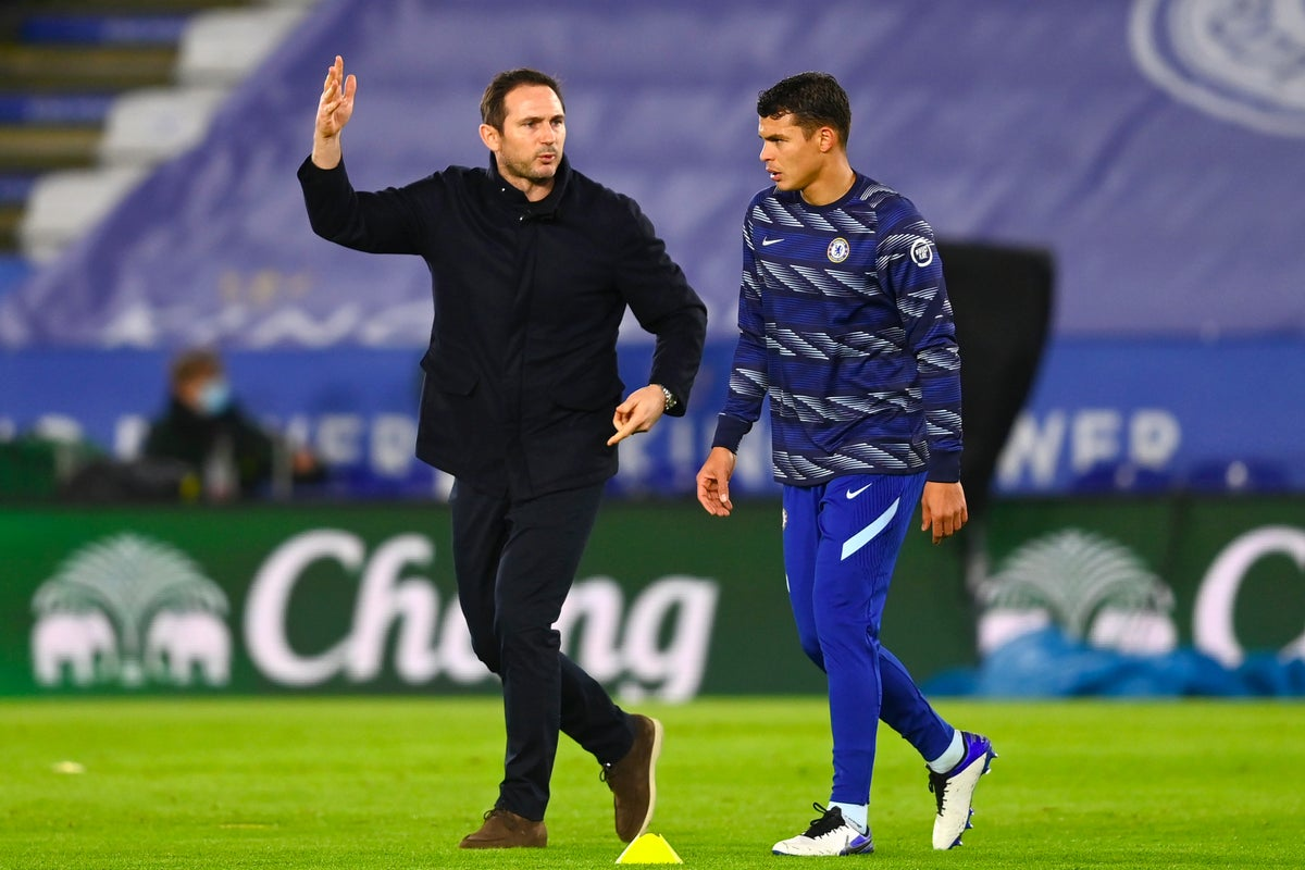 esonero Lampard Thiago Silva