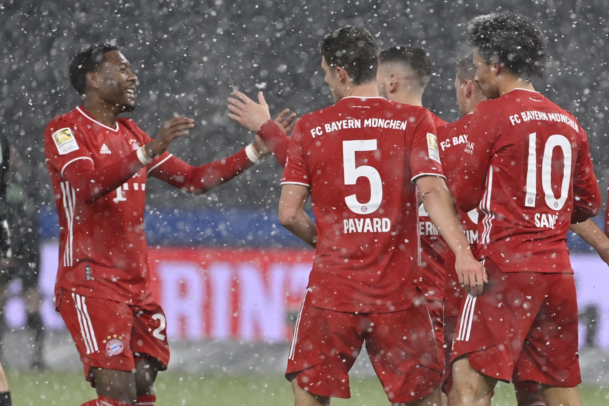Bayern notte in aereo