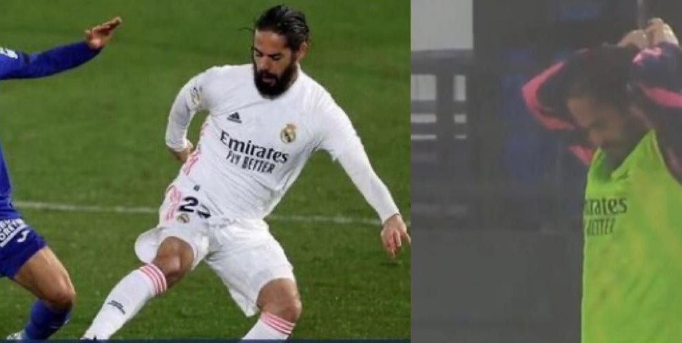 Real Madrid Isco capelli
