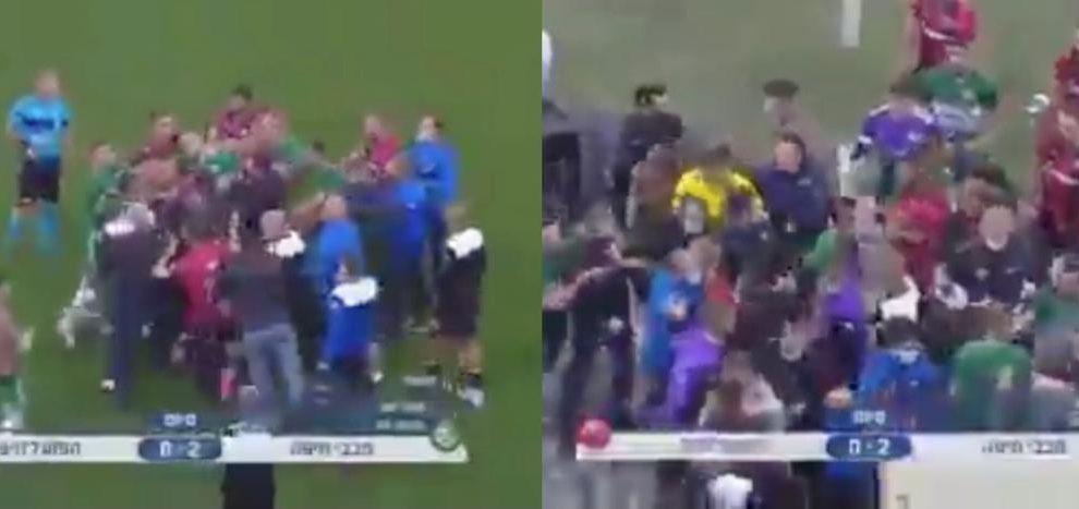 Israele derby Haifa rissa