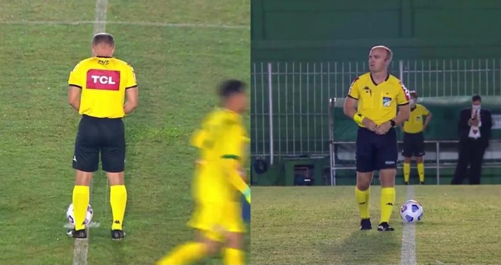 arbitro pipì Brasile