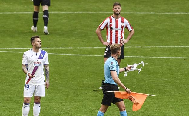 Athletic Bilbao Eibar drone