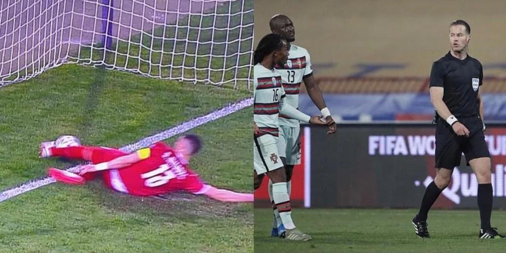 goal fantasma Ronaldo Makkelie