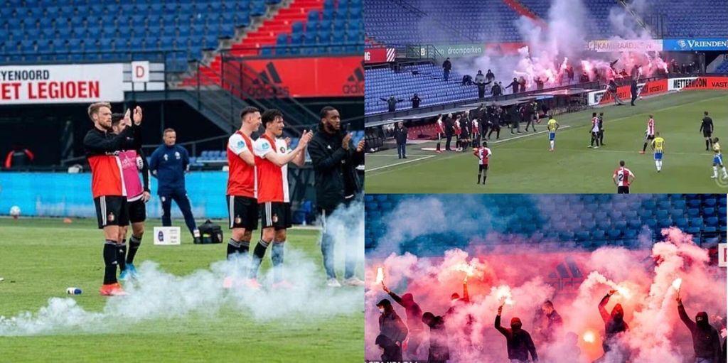 Feyenoord irruzione tifosi
