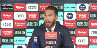 Sergio Ramos in lacrime