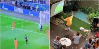 Tifosi guardano match