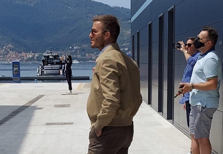 Beckham a La Spezia