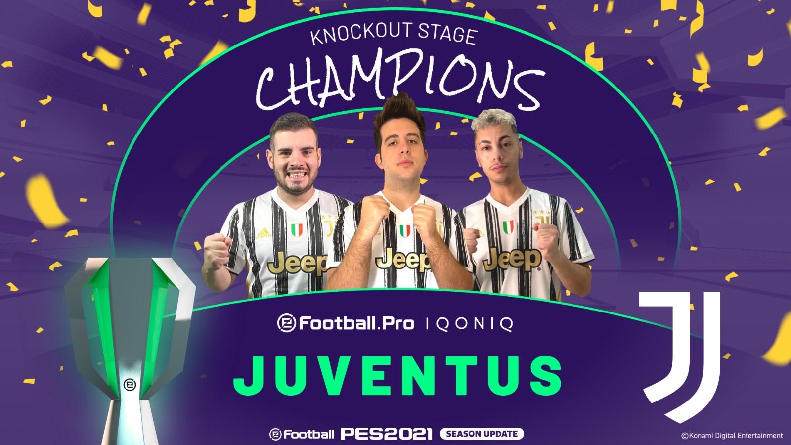 juventus campione d'Europa