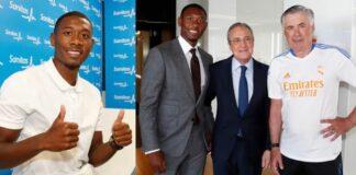 Alaba si presenta al Real Madrid