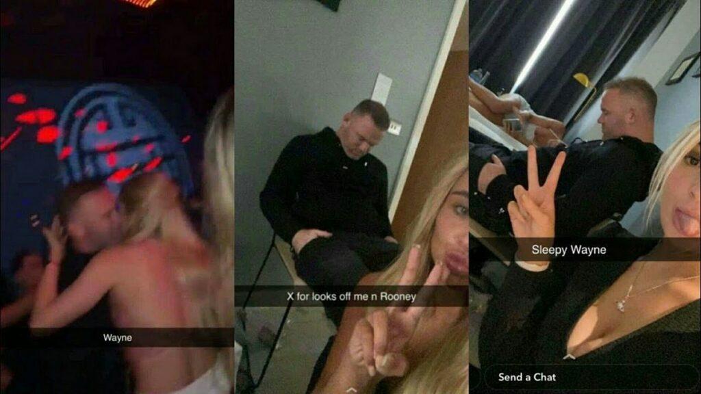 Rooney trascorre notte
