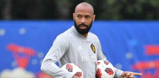 Thierry Henry lascia il Belgio