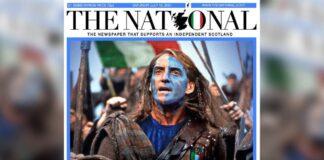 Scozia tifa Italia