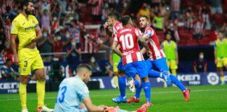 Atlètico Madrid Villarreal rissa