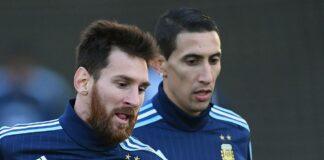 Di Maria e Messi