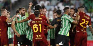 nervosismo Roma contro il Betis