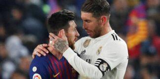 Sergio Ramos e Messi coinquilini