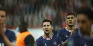 esordio di Messi Psg record tv