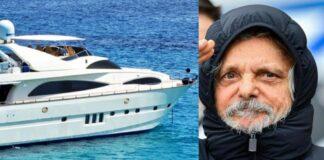 multa per Ferrero yacht