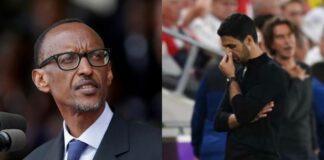 Il presidente del Ruanda infuriato con l'Arsenal