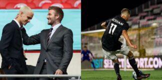 Romeo Beckham debutta in USL League One