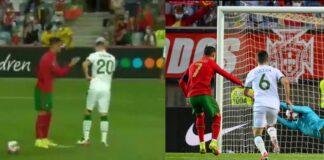 Ronaldo sbaglia il rigore