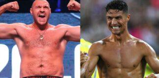 Tyson Fury Cristiano Ronaldo